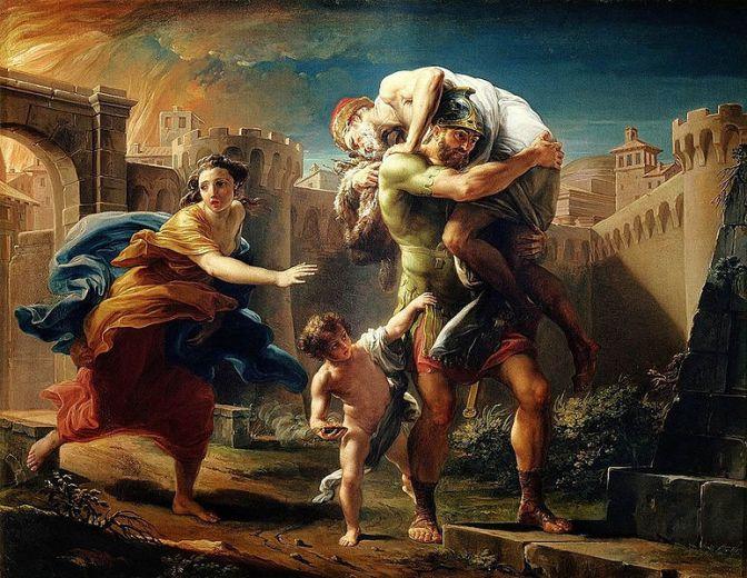 Aeneas migreert