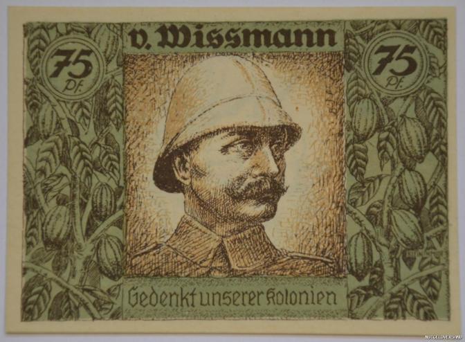 Beriggie #9: Brief aan Majoor Von Wissmann