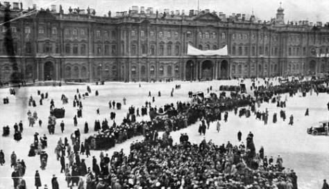 bestorming winterpaleis 1917