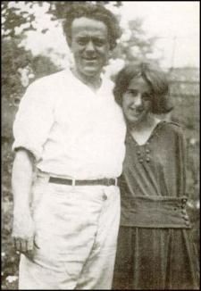 John Reed en Louise Bryant, november 2016